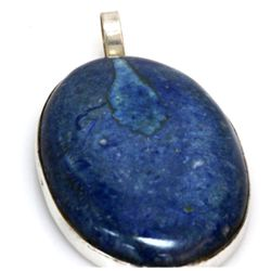 Natural 153.81 ctw Semi Precious .925 Sterling Pendant