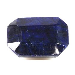 Natural African Sapphire Loose 41.35ctw Emerald Cut