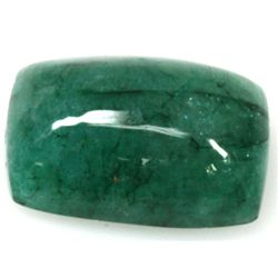 Natural 18.72ctw Emerald Cushion Stone