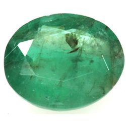 Natural 3.91ctw Emerald Oval Stone