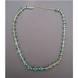 PUEBLO TURQUOISE NUGGET NECKLACE