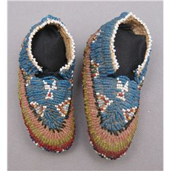 PAIR OF BABY MOCCASINS