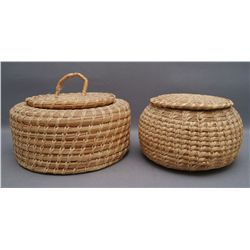 TWO PAPAGO BASKET'S