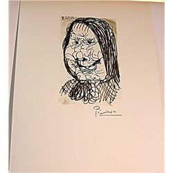 Beautiful Original Signed Lithograph by Pablo Picasso