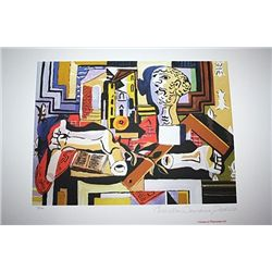 Limited Edition Picasso - Sculptur's Studio - Collection Domaine Picasso