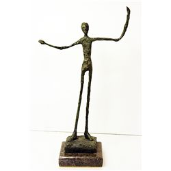 Alberto Giacometti  Original, limited Edition  Bronze - MAN POINTING