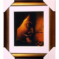 Salvador Dali Signed Limited Edition - The Image Disappears