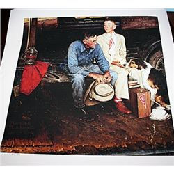 Norman Rockwell Limited Edition Limited Edition - Breaking Home Ties