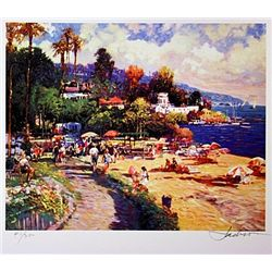 Jacobson Limited Edition Lithograph  Laguna Beach