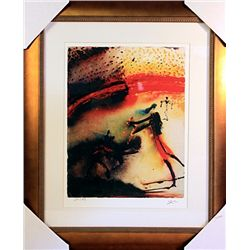 Salvador Dali Signed Limited Edition - TAUROMACHIE  III
