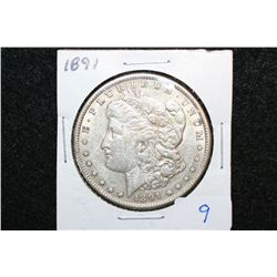 1891 Silver Morgan $1
