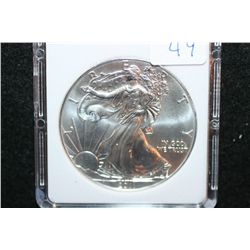 2011 Silver Eagle $1; MCPCG Graded MS70