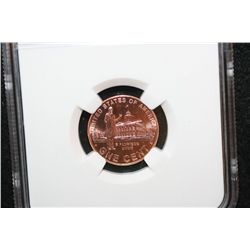 2009 First Day Issue Lincoln-Professional Life Penny; NGC Graded Brilliant Uncirculated