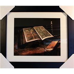 Vincent Van Gogh  Limited Edition-Still Life with Open Bible