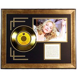 Madonna Giclee with Gold Record