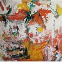Untitled (Red, Yellow and Green) by Willem De Kooning  Lithograph 