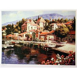 Jacobson Limited Edition Lithograph  Country Harbor 