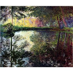 By the Water by Monet
