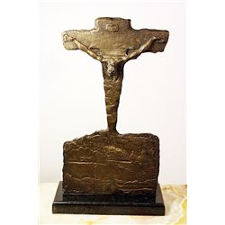 Salvador Dali Enchanting Original, limited Edition Bronze - Saint John of the Cross