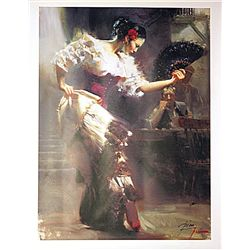 Pino  on Canvas - The Dancer