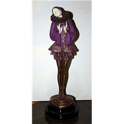 Encore - Bronze and Ivory Sculpture by Preiss