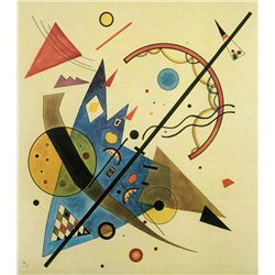 Arch and Point - Kandinsky - Limited Edition on Canvas