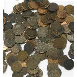 500 INDIAN HEAD CENTS-Mixed-