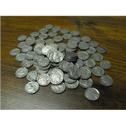 Lot of 100 Buffalo Nickels- Various Dates-