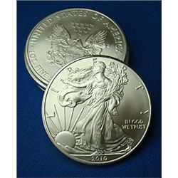 Silver Bullion 1 oz. Silver Eagle- Random date-