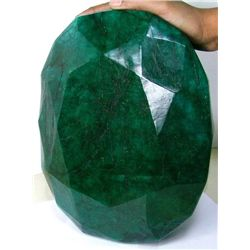 65,500 ct - World Largest Faceted EMERALD Gem