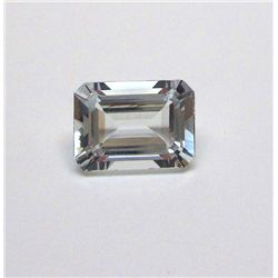 7.60 ct. Rectangle Aqua Marine Gem