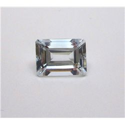 7.70 ct. Rectangle Aqua marine Gem