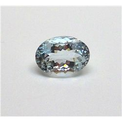 5.60 ct. Oval Aqua Marine Gem