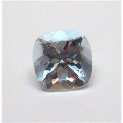 7.45 ct. Square Aqua Marine Gem