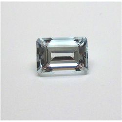 5.40 ct. Rectangle Aqua Marine Gem