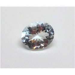 6.35 ct. Oval Aqua Marine Gem