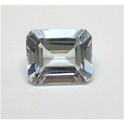 5.55 ct. Rectangle Aqua Marine Gem