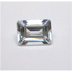 6.60 ct. Rectangle Aqua Marine Gem
