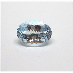 5.40 ct. Oval Aqua Marine Gem