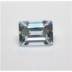 6.35 ct. Rectangle Aqua Marine Gem