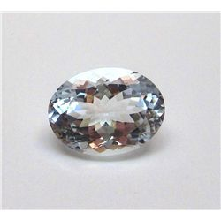 4.35 ct. Oval Aqua Marine Gem