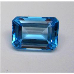 34.35 ct. Rectangle Topaz Gemstone