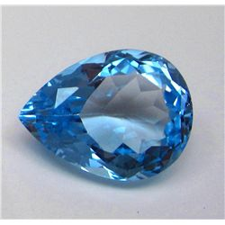 34.45 ct. Pear Shape Topaz Gemstone