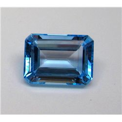 36.50 ct. Topaz Gemstone Rectangle