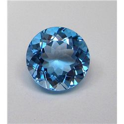 18.35 ct. Round Brilliant Topaz Gemstone