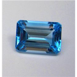 18.55 ct. Topaz Rectangle Gemstone
