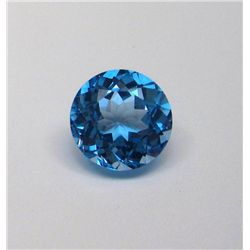 19.35 ct. Round Brilliant Topaz Gemstone
