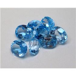 29.62 tcw Topaz Gem Lot