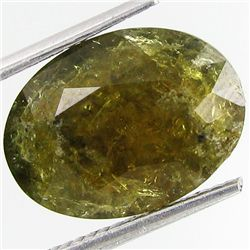 7.55ct Natural Demantoid Garnet Oval (GEM-29451)