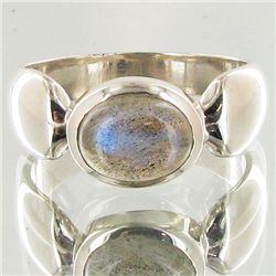 26.6twc Labradorite Sterling Ring (JEW-3904)